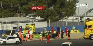 Accidente camión Orlando Santos
